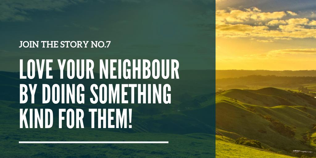 #JoinTheStory this week by doing an act of kindness for a neighbour! (And let us know if you have a good idea for a way to practically love your neighbour) #actofkindness<br>http://pic.twitter.com/F3nAf1kwSR