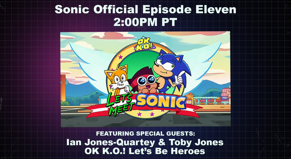 Cartoon Network On Twitter Check Out The Sonic Livestream At 2p Pt Featuring Ianjq And Tobytobyjones Https T Co Pfhqamdolc