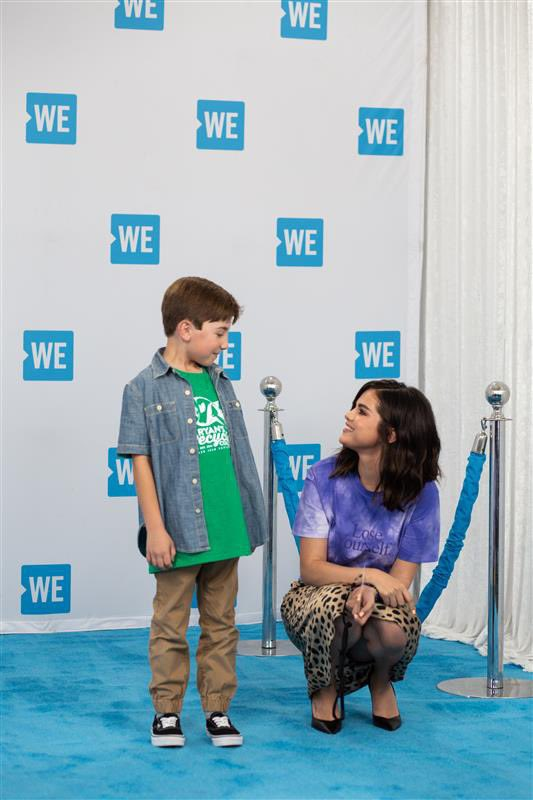 We're feeling the same way about @selenagomez  joining us at #WEday  💙