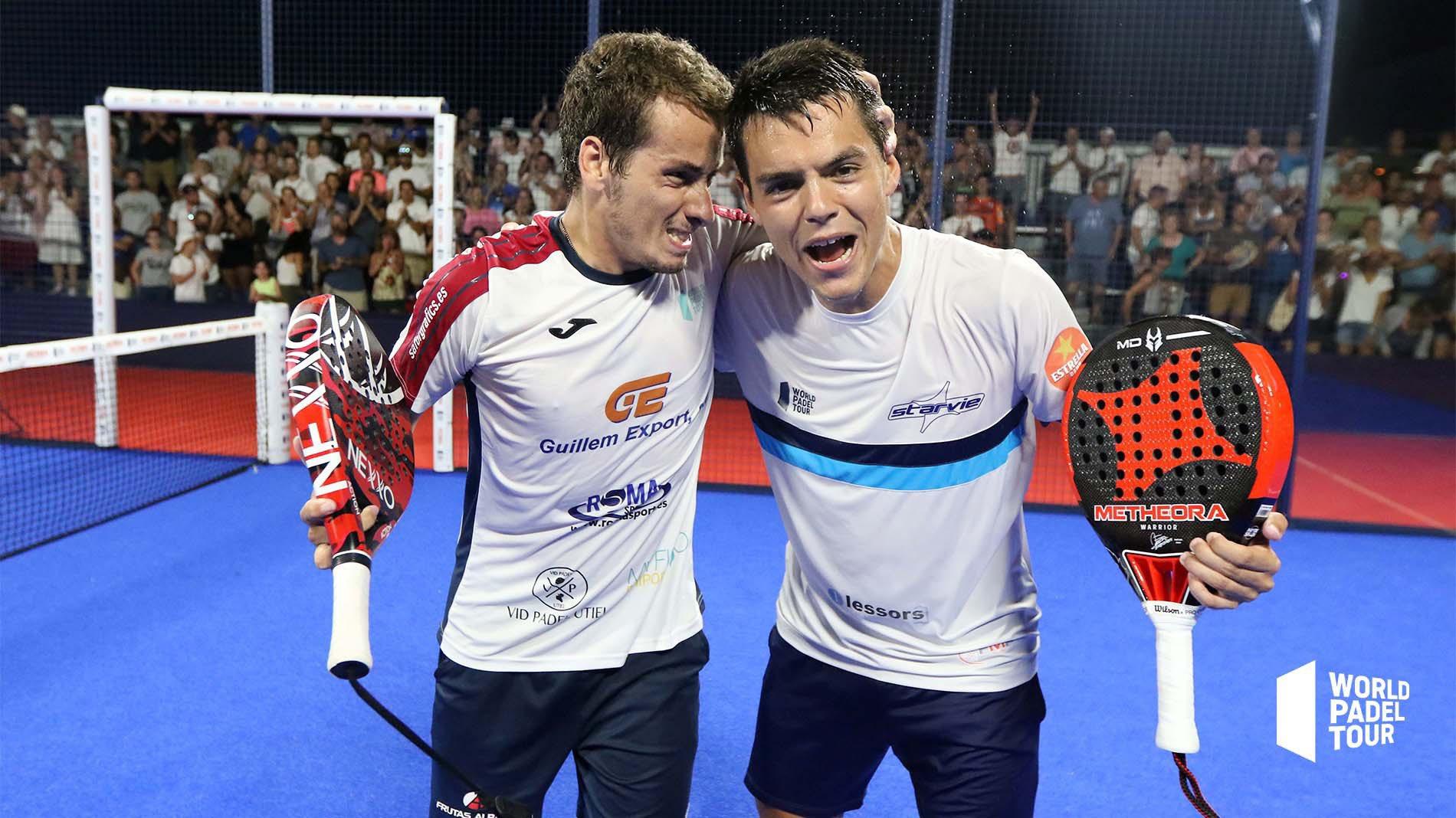 Coki Nieto y Javier Rico dan la sorpresa en los octavos del Mijas Open