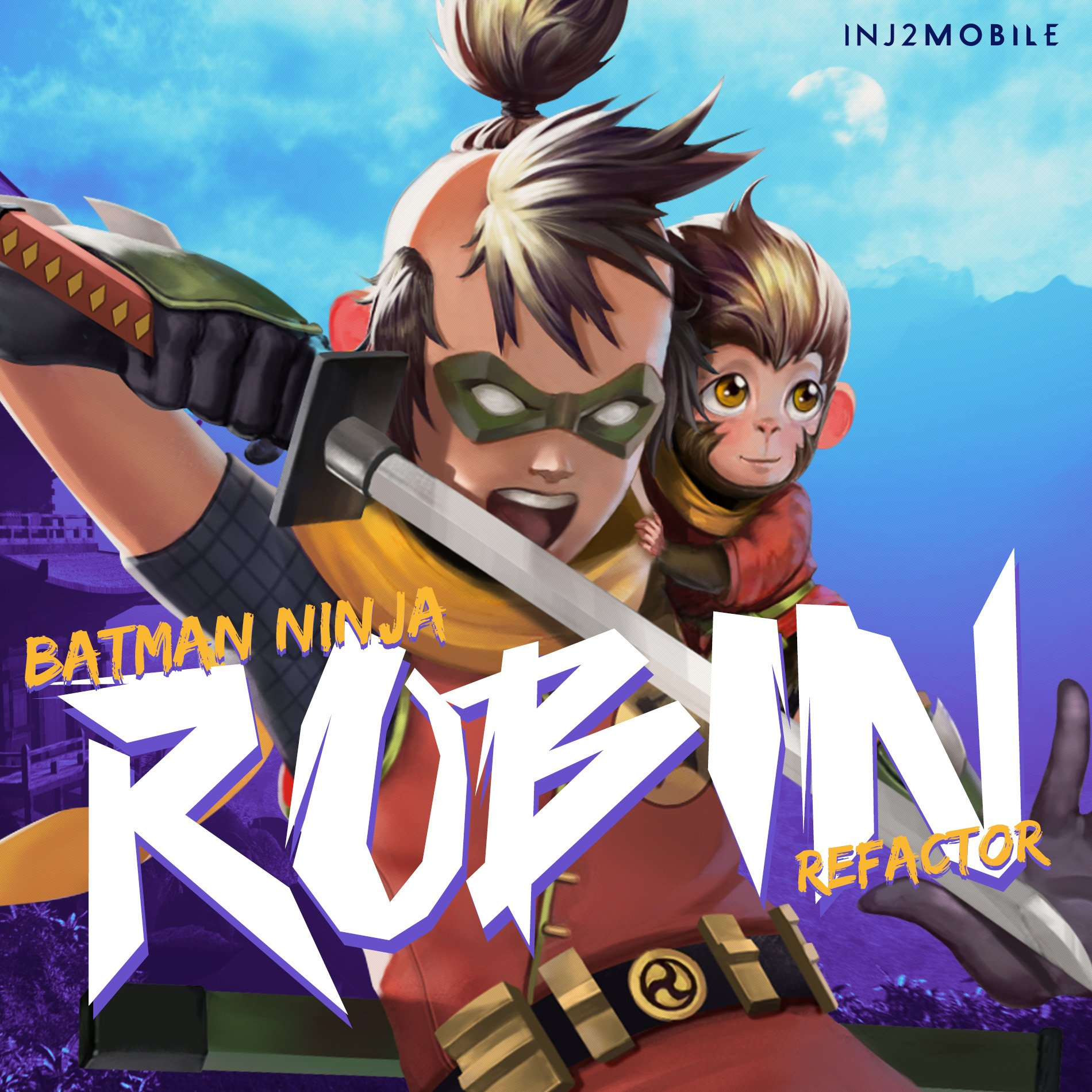 Injustice 2 Mobile On Twitter Amplify And Stack Lethal Attack Damage With Batman Ninja Robin S Upcoming 3 2 Refactor Inj2mobile