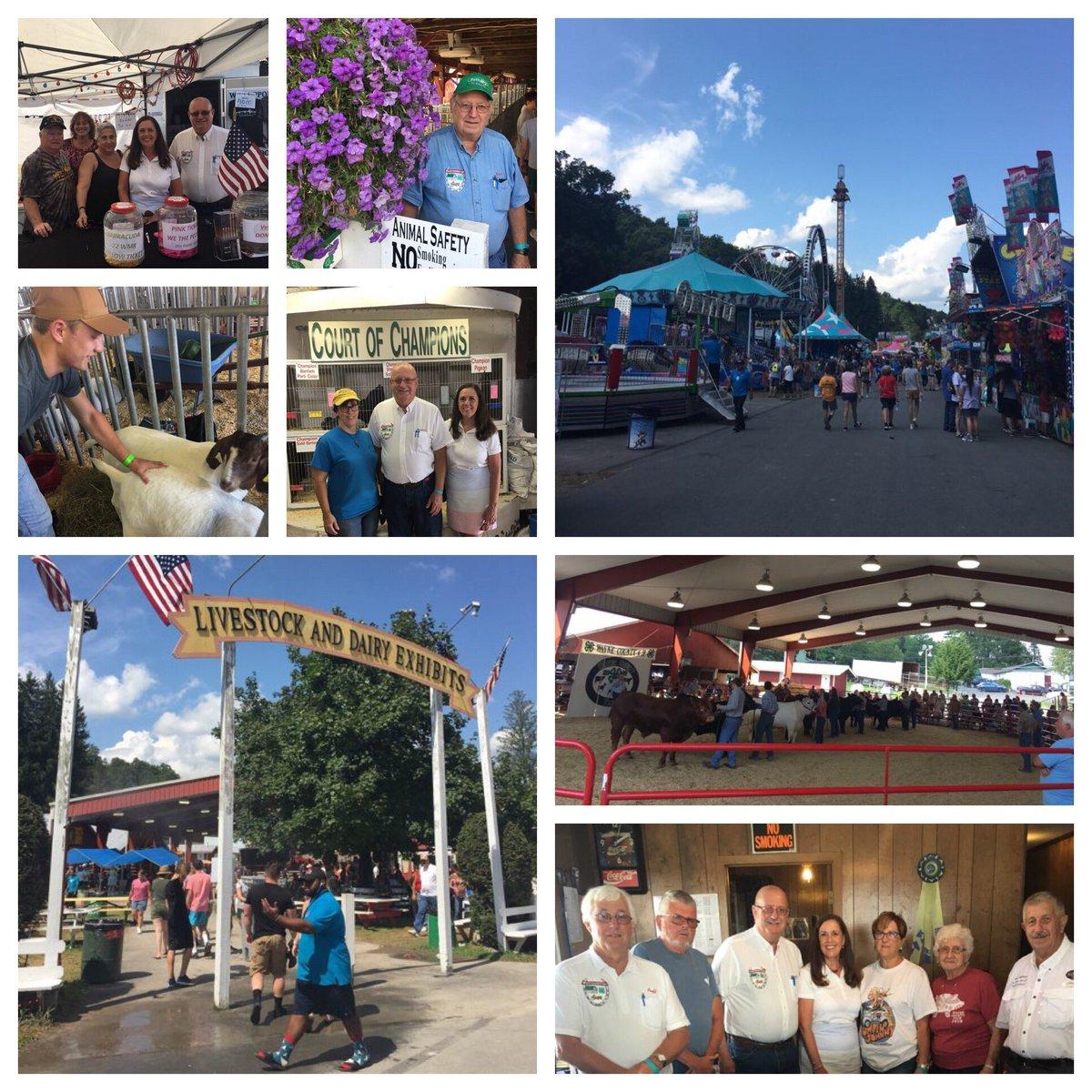 The 157th @WayneCoFairPA runs through Saturday - a family tradition where farm meets food and fun!