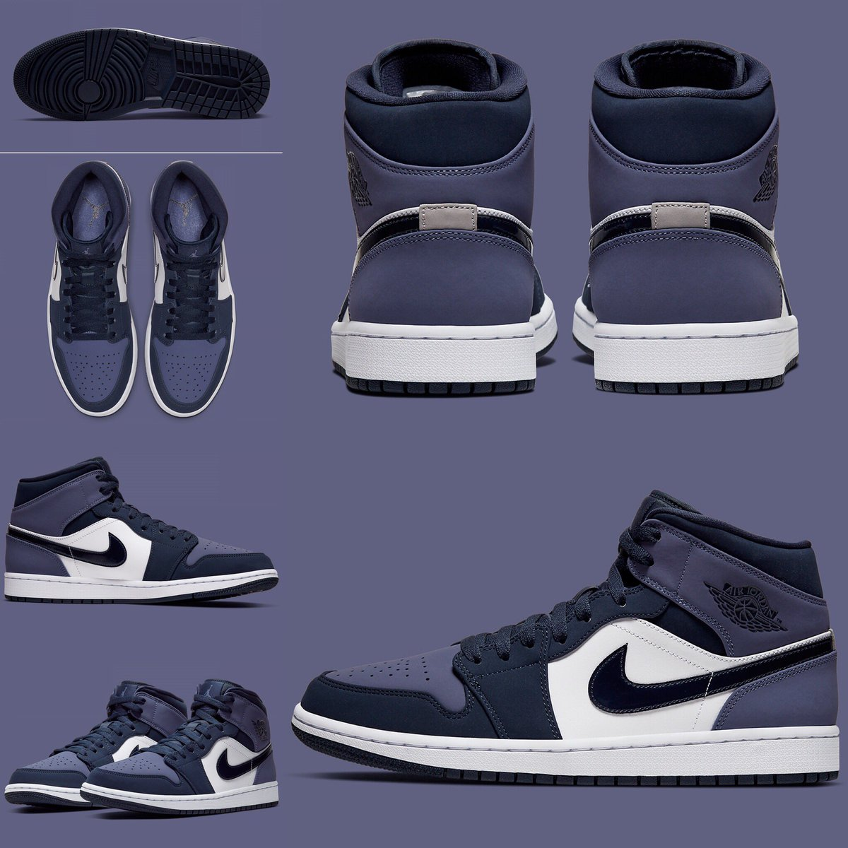 united kingdom available big discount The Air Jordan 1 Mid Continues To Expand With Obsidian And ...