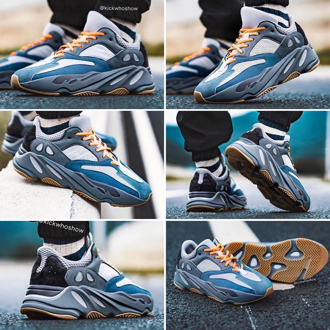 """promo code 2235e 7c444 ON FOOT!👀 adidas Yeezy Boost 700 """"Magnet"""" Release Date ..."""