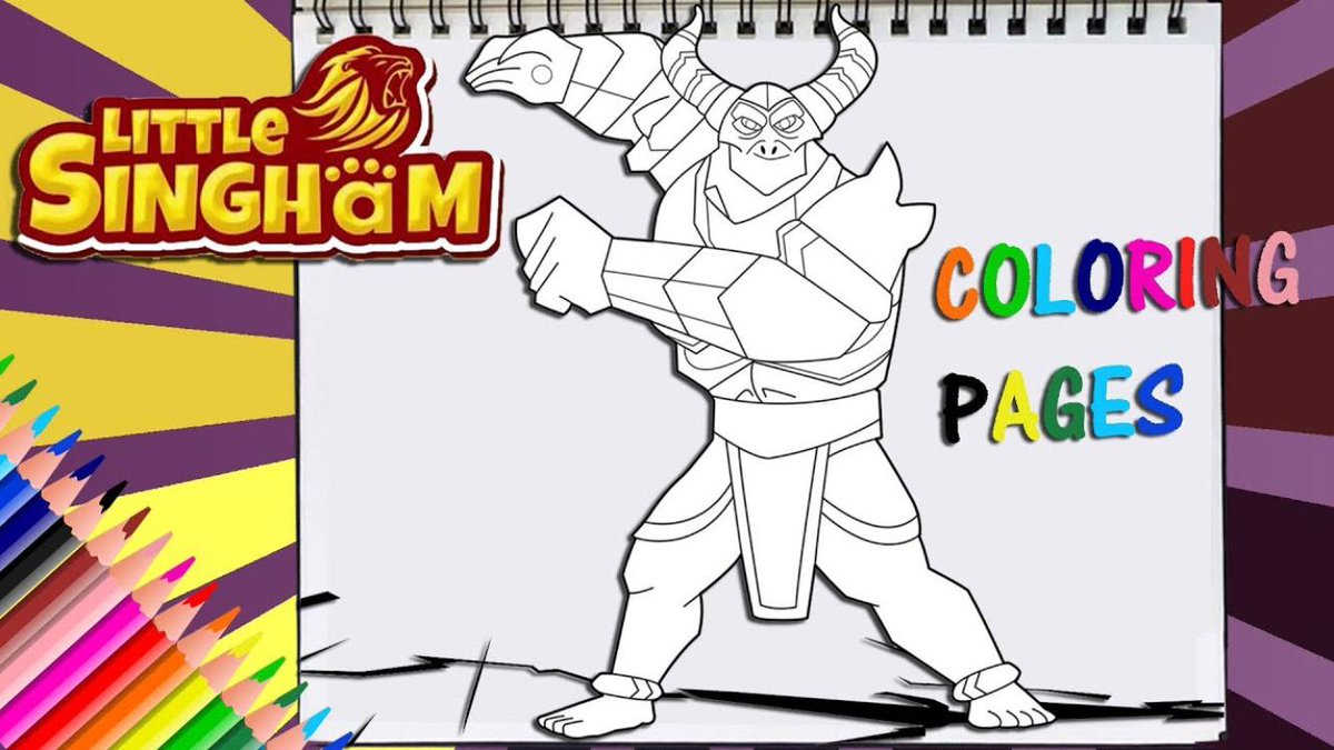 Playhouse305 On Twitter Little Singham Villain Kaal Gold Armor Coloring Page Youtube Link In My Bio Littlesingham Artwork Coloring Coloringpage Digitalartist Learn Youtuber Youtube Digital Digitalpainting Artists Tutorial Art