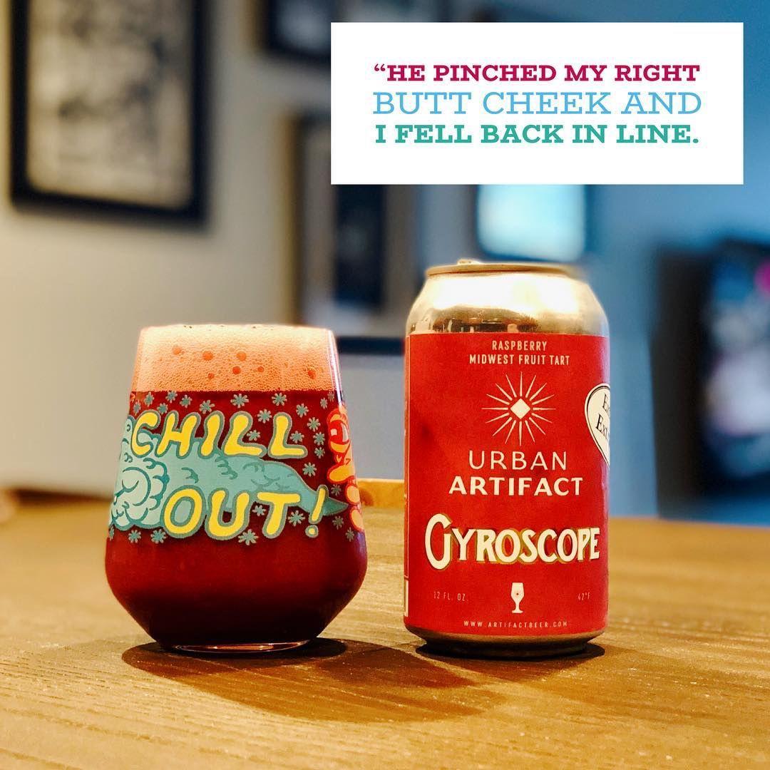 """A shit ton of raspberries. So many raspberries. All the raspberries, really."" Read more -> instagram.com/p/B07HwoIBHeg/ @UrbanArtifact #beerlover #cincybeer #ohiobeer #beerreview #ohiocraftbeer #urbanartifact #cincinnatiohio #sourbeer #sourale #sour"