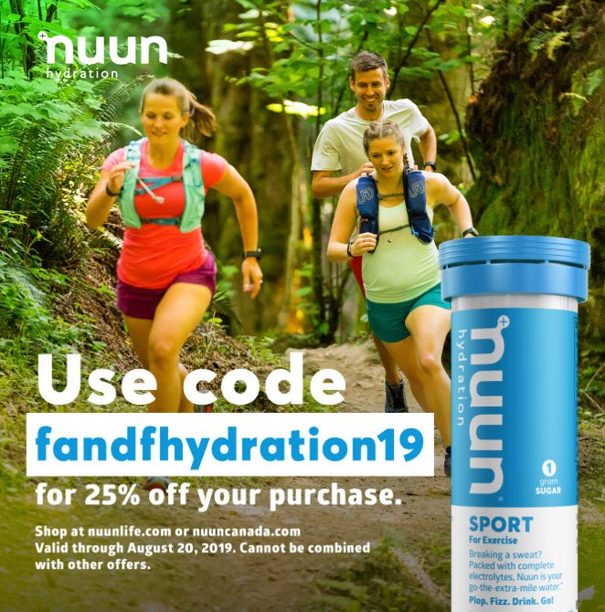 Hydration season is in full swing! Do your hydration right! Use the code fandfhydration19 to get 25% off a great product with awesome flavors! #nuunlife #nuunbassador @nuunhydration<br>http://pic.twitter.com/woMFfhcmgq