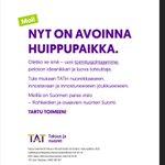 Image for the Tweet beginning: On vaihdon paikka - tarjolla