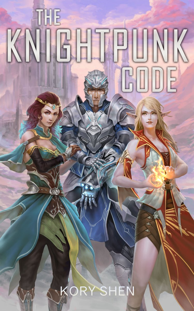 The Knightpunk Code, a high-tech high-fantasy mashup, is now available. Its a superhero origin/prequel for an Avengers-GoT crossover inspired story. On sale for 99 cents for a few days only. #gamelit  #harem  #haremlit  #superheroes  #KindleUnlimited