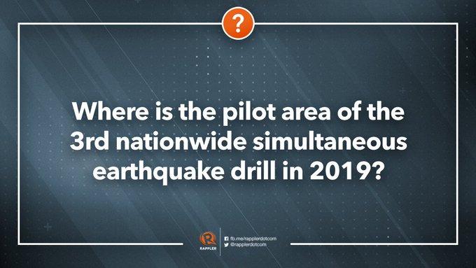 Nationwide Simultaneous Earthquake Drill : Latest news