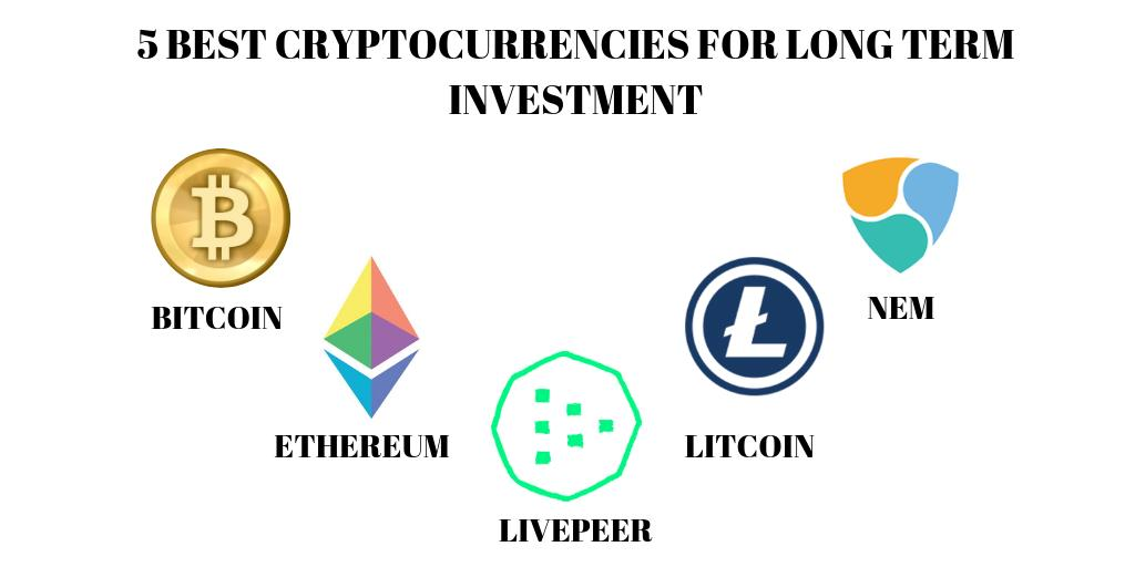 top 5 cryptocurrency for long term investment