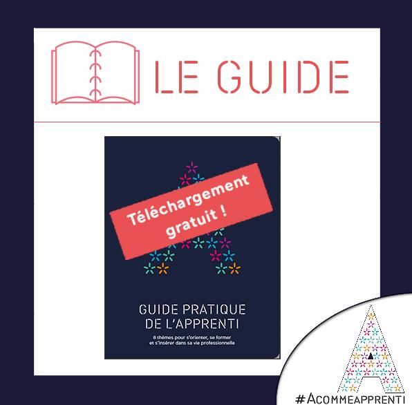 #ACommeApprenti - #guide pratique de l'#apprenti : 8 thèmes pour s'orienter, s'informer et s'insérer dans la vie professionnelle  >> https://t.co/8rUppNzDcq https://t.co/1rTfP6TTKR