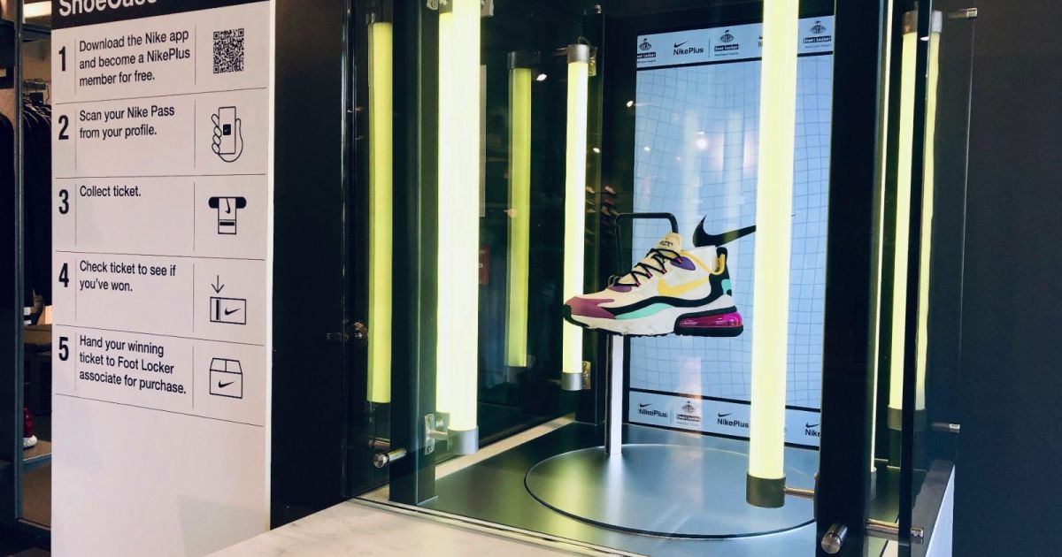 Nike's app powers Foot Locker's new NYC store