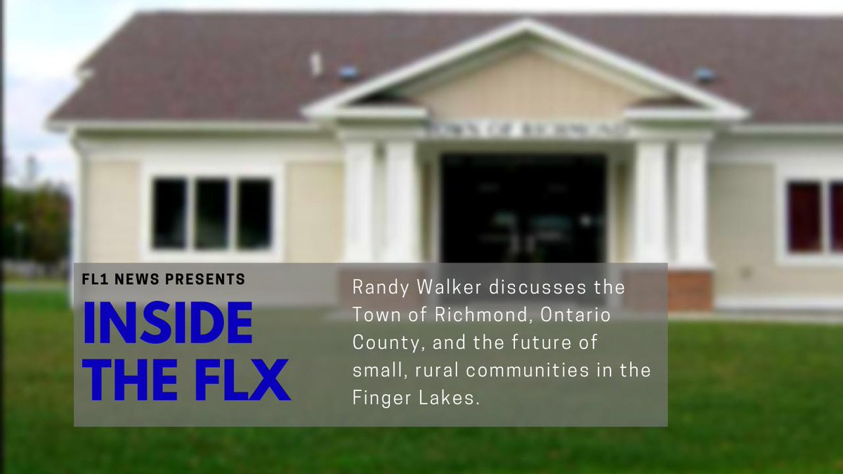 Randy Walker discusses race for Richmond Town Supervisor .::. Inside the FLX 8/9/19