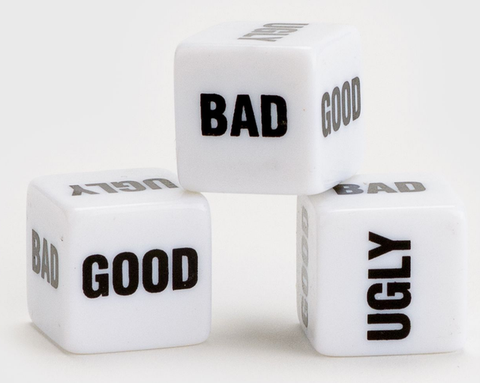 Good Bad Ugly Dice