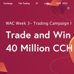 Image for the Tweet beginning: Trade and win 40 Million