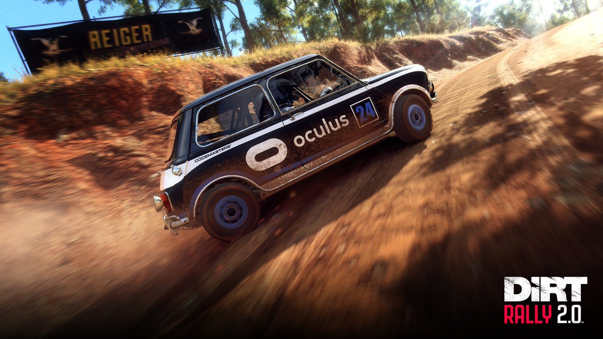. @oculus #DiRTRally 2.0 players have access to these exclusive liveries, plus their own Community Challenges in My Team. 🛒 Available now: oculus.com/experiences/ri…