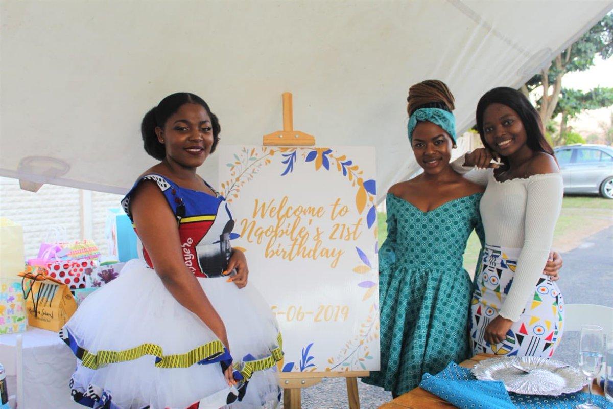 Thank you Nqobile Kunene for trusting us on your 21st birthday celebration.  Makhelwane Events.————Celebrating in style. #Events #EventsPlanner #ClassyEvents #CelebratingInSytle #EventSetup #SpaceDecor #Business #MasterDecor #KznEventspic.twitter.com/mf4t5Moy0E