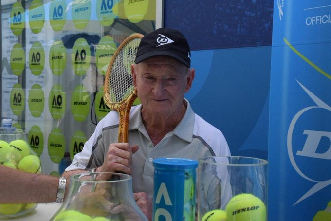 Happy Birthday to the Legend that is Rod Laver