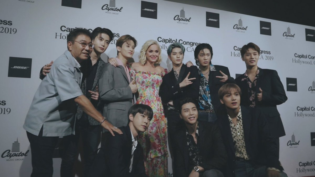 At Capitol Congress 2019, NCT 127 to the world!#NCT127 #NCT #CMG #CapitolCongress @capitolrecords