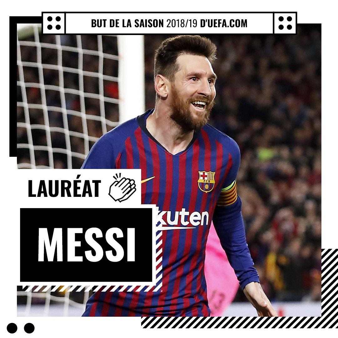 Lionel Messi plus beau but UEFA