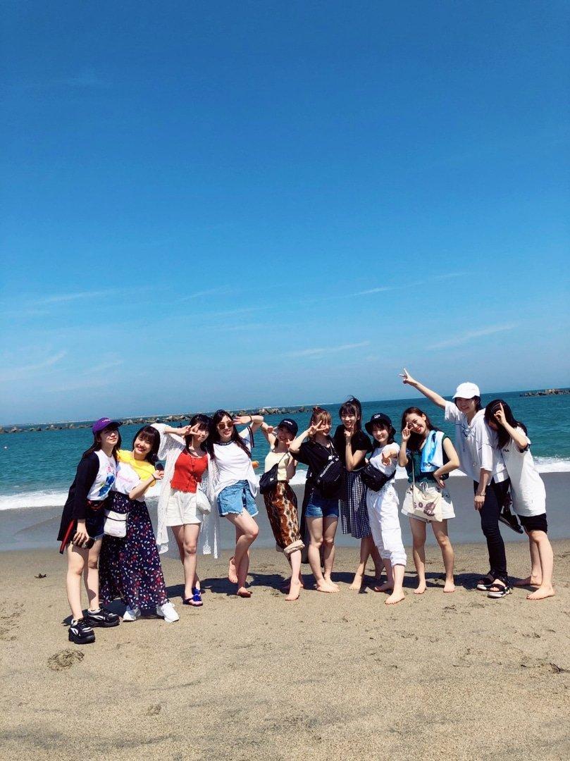 【12期 Blog】 ロッキン/明日/海@野中美希:…  #morningmusume19