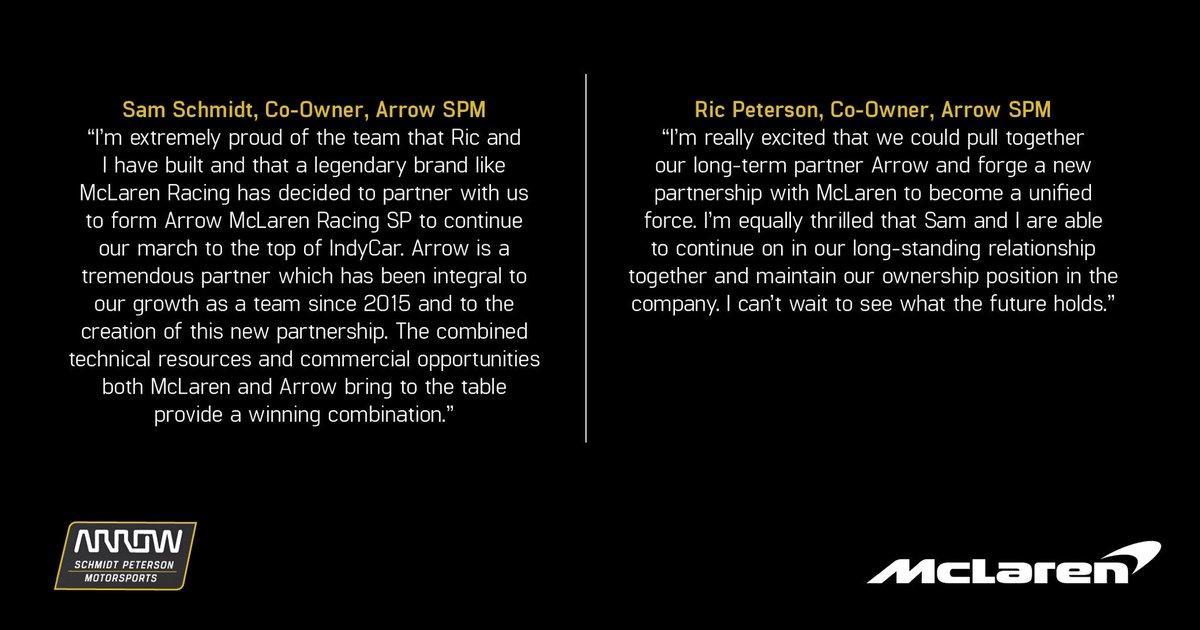 🚨🚨🚨🚨🚨 ✖️2020 ✖️Arrow McLaren Racing SP ✖️Chevrolet 👀 ⬇️ spmindycar.com/2019/08/09/mcl… #INDYCAR