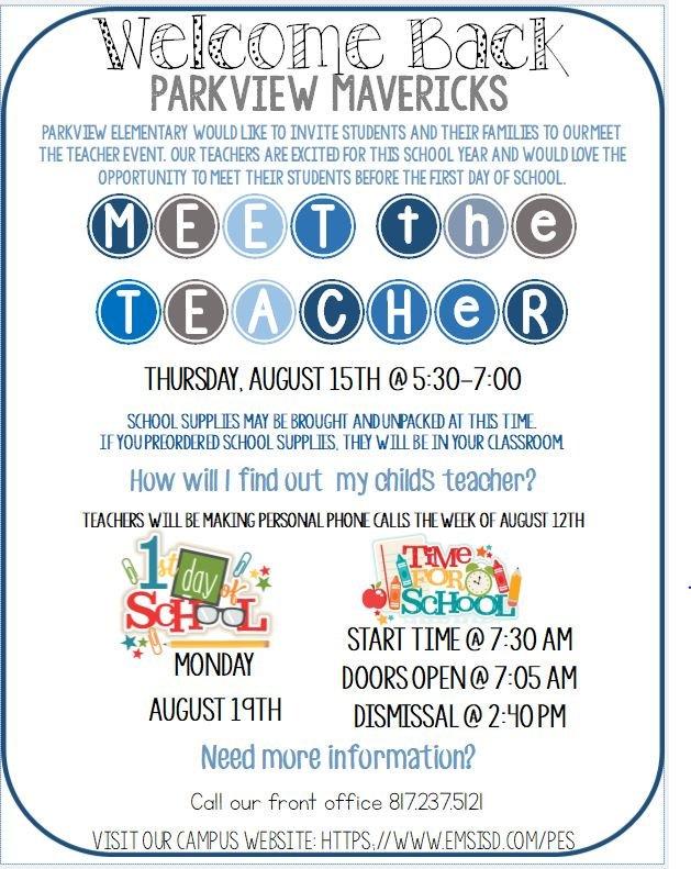 Parkview Elementary (@Parkview_Elem)   Twitter