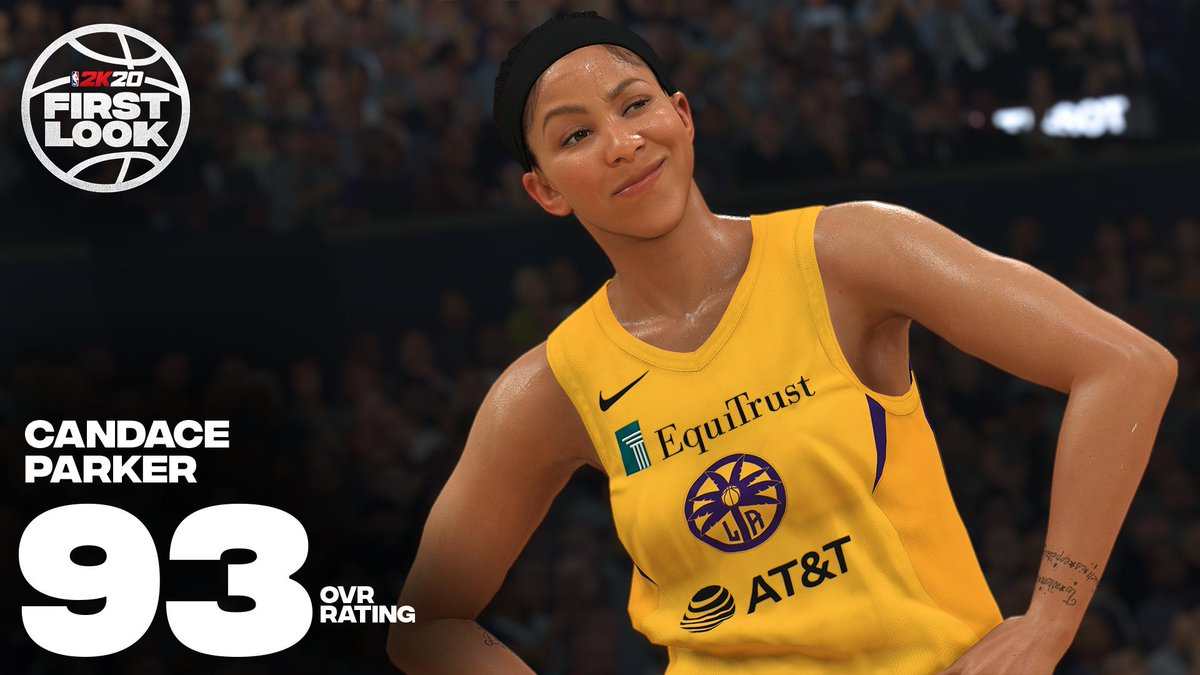 Nba 2k20 On Twitter Fair Rating For Candace 2kratings