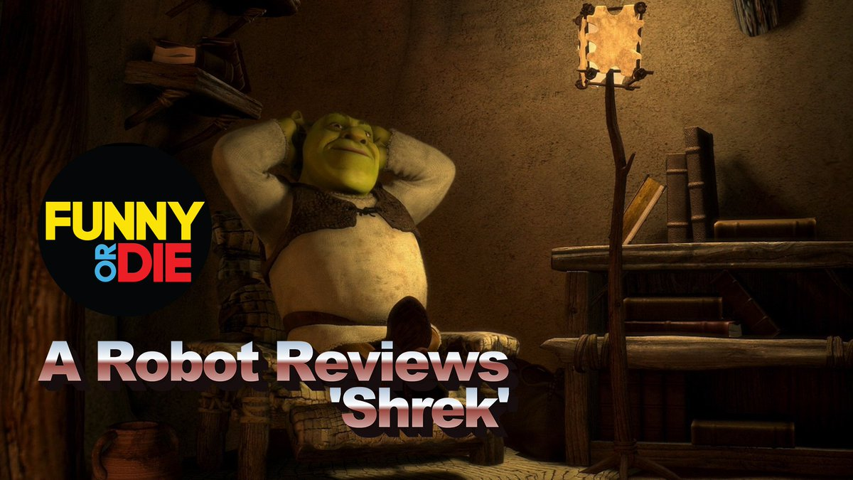 A robot watched Shrek and this is what it had to say