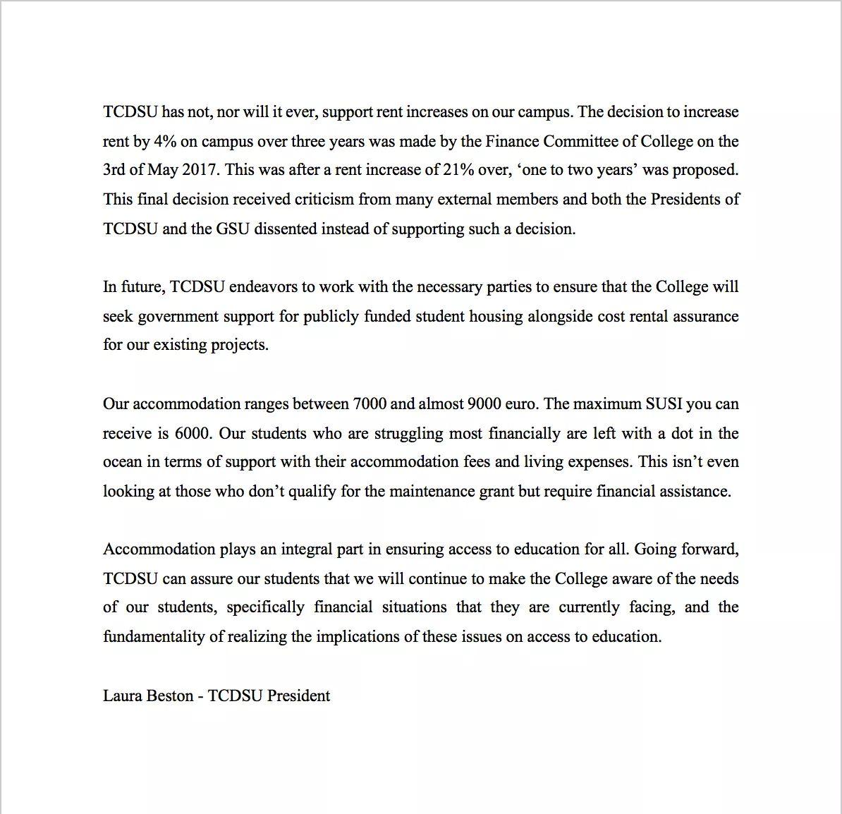 TCD Students' Union (@tcdsu) | Twitter