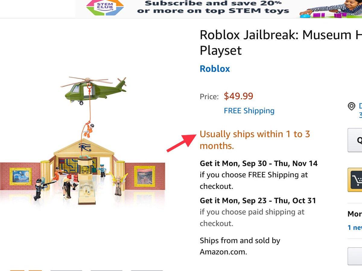 Badimo On Twitter The Museum Heist Jailbreak Toy Is Here