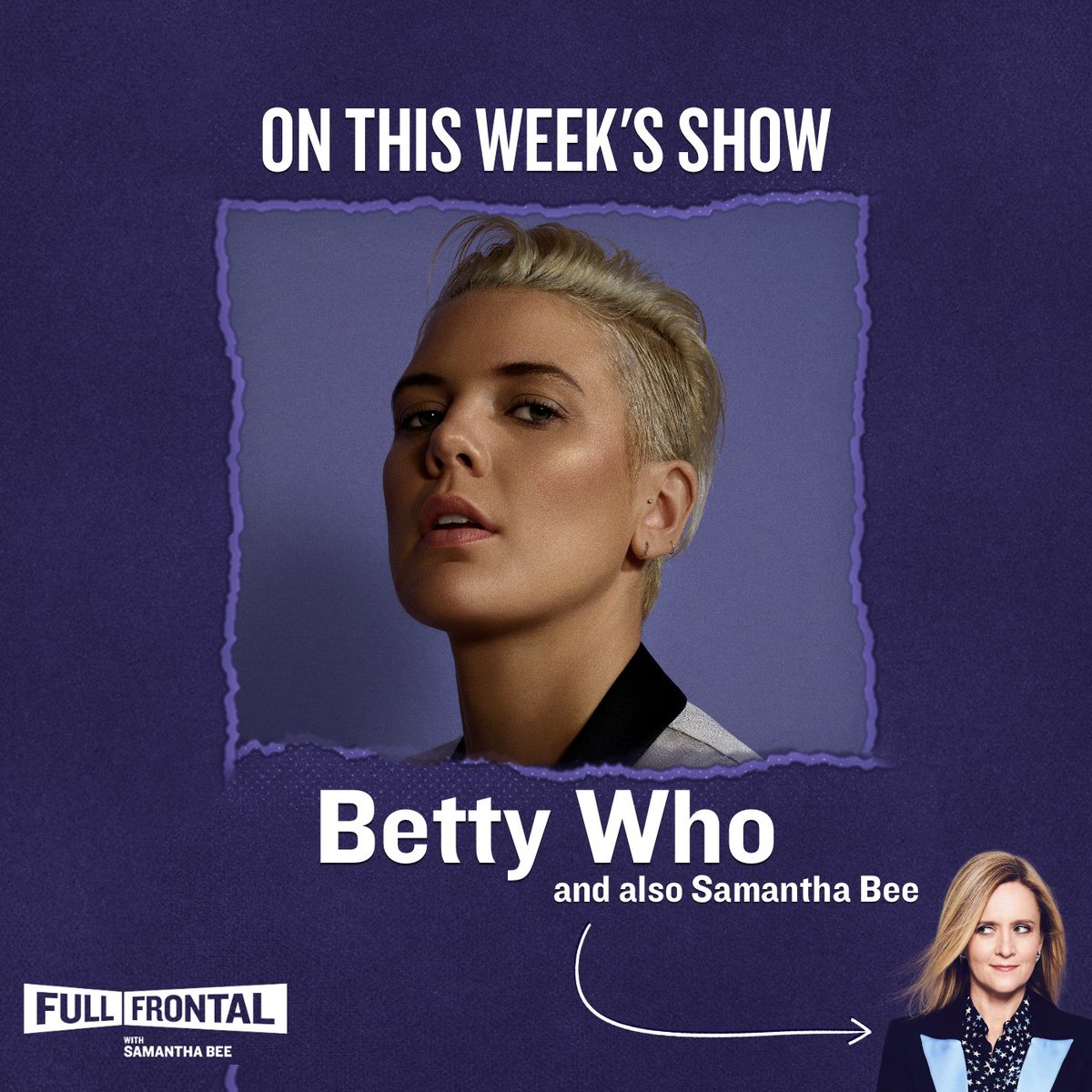 Tune in tomorrow night at 10:30PM on TBS for @bettywho!
