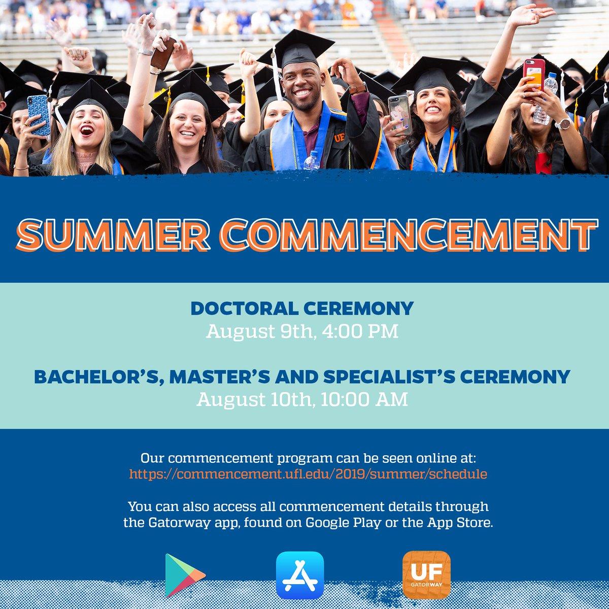 Uf Summer 2020 Graduation.Uf Univ Registrar Ufregistrar Twitter