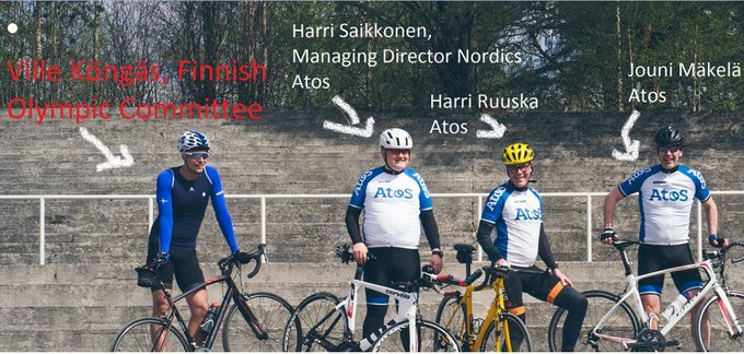 Our team is very excited to be again part of the @AtosTour! Meet the...