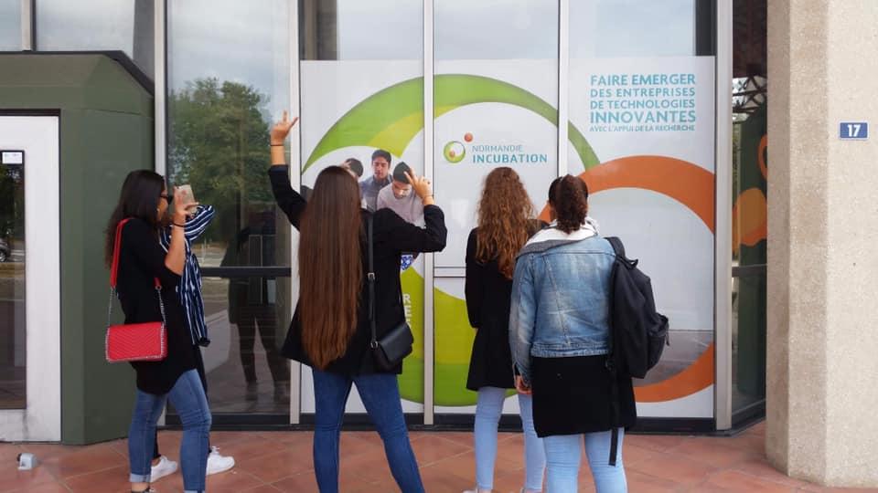 La Coopérative Jeunesse de Services d' @HSC_14200 «Summer Jeunesse» en visite chez Normandie Incubation ! Une belle aventure entrepreneuriale et…
