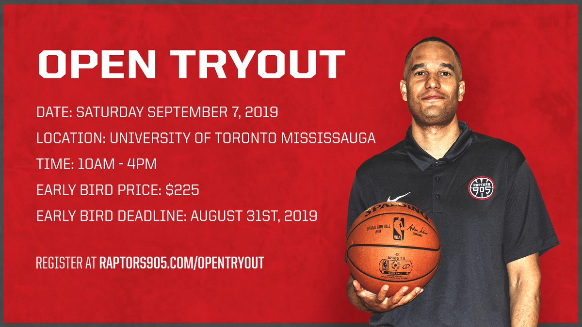 Think you got what it takes? 2019-20 Open Tryout » rpt.rs/OpenTryout #RoadToTheSix