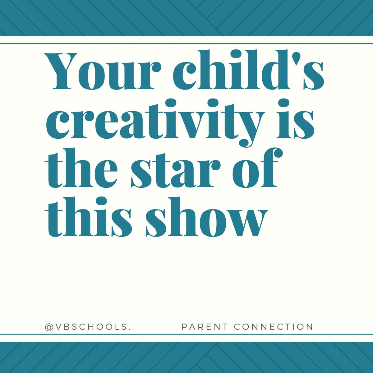 Parent Connection Tip of the Day: Your child's creativity is the star of this show - bit.ly/2Ttlzup