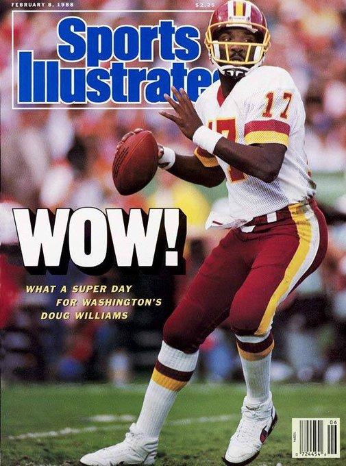 Wishing Doug Williams a very Happy Birthday today!