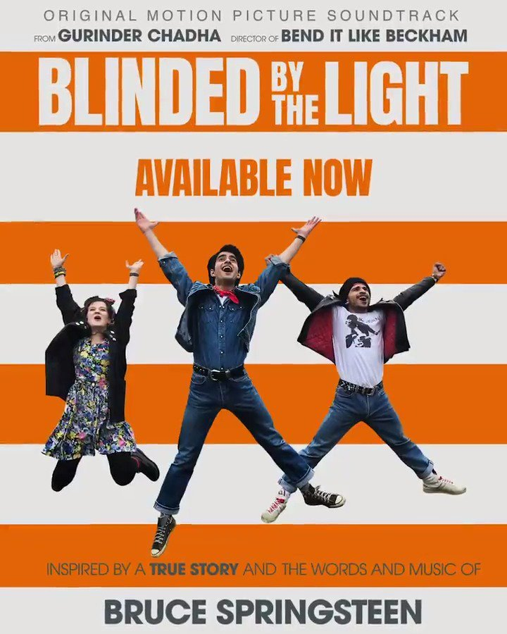 """Get the Blinded By the Light Official Motion Picture Soundtrack, available now including the previously unreleased song, """"I'll Stand By You"""" - Film in theaters August 16 BlindedByTheLight.lnk.to/PreOrderFA"""