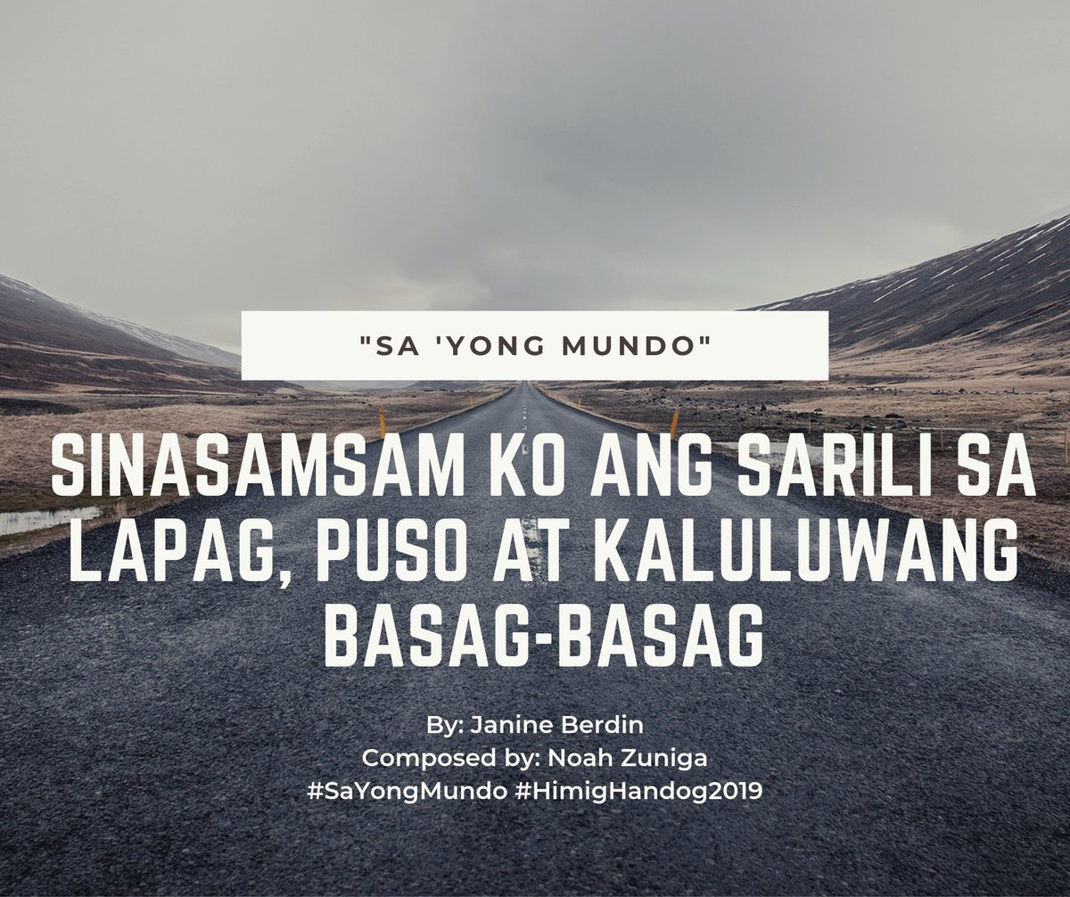 hugot hashtag on Twitter