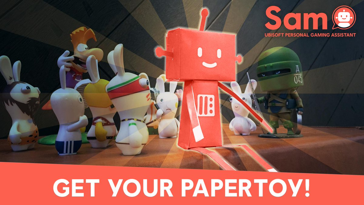 Ubisoft Club Ubisoft Connect On Twitter Just Ask Sam Give Me Your Papertoy In The Ubisoft Club Mobile App Https T Co Wdzjrs9kcr Craft Yours And Post A Photo In Comments Https T Co Wdsmi4j4uw
