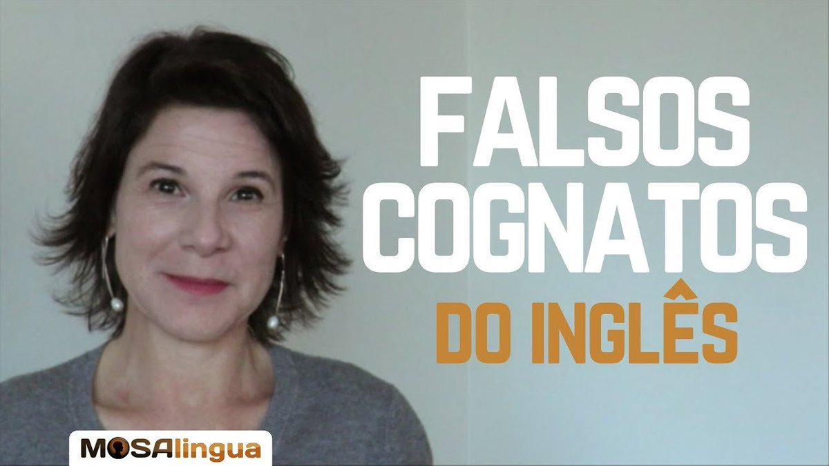 Falsos cognatos do #inglês. Parece, mas não é... Conheça as palavras que mais nos enganam no inglês! E não erre mais. 👊 ow.ly/B2xf50vs5nN
