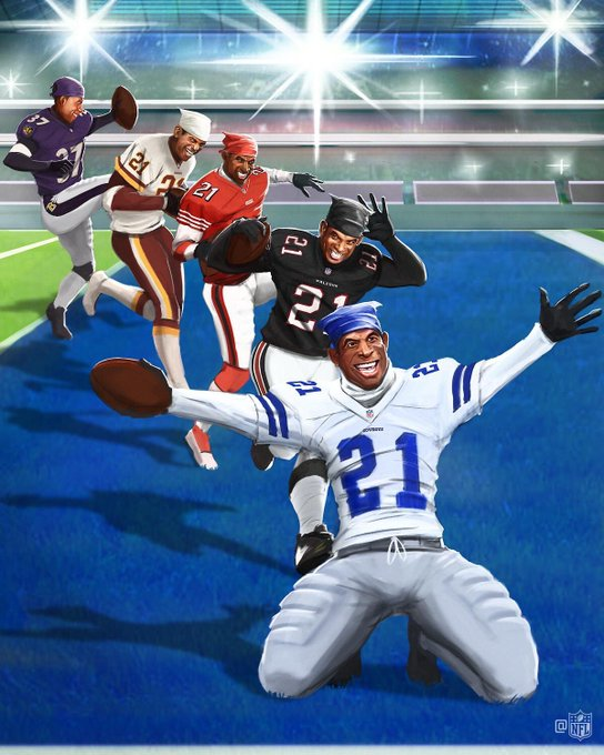 The one. The only. Prime Time.  HAPPY BIRTHDAY to the legendary Deion Sanders!