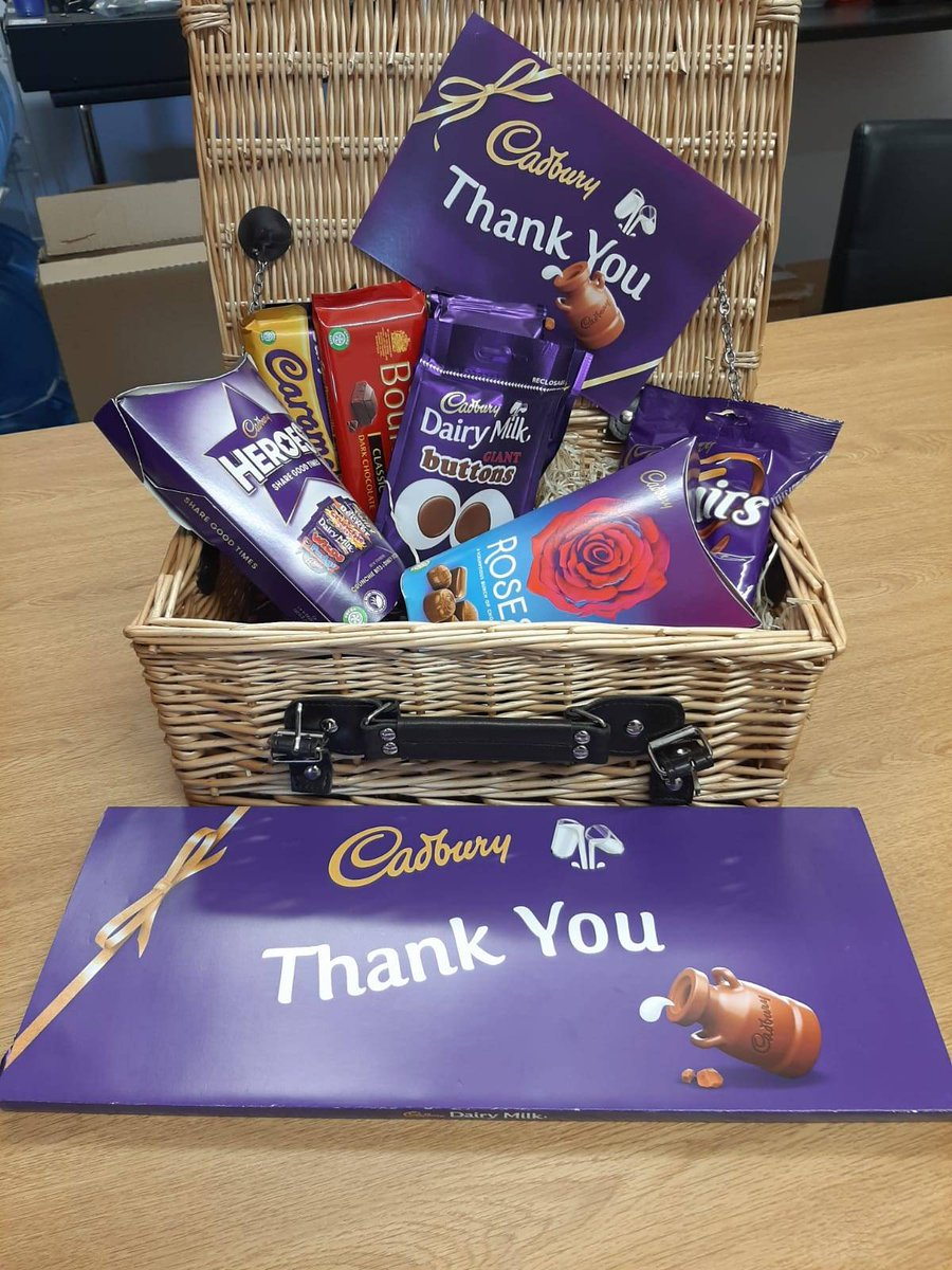 It is always nice to receive a thank you from a client, happy Friday.