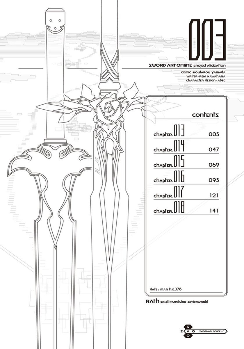 Sword Art Online Project Alicization Chapter 8 Release Date