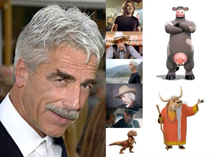 Happy 75th Birthday to Sam Elliott!