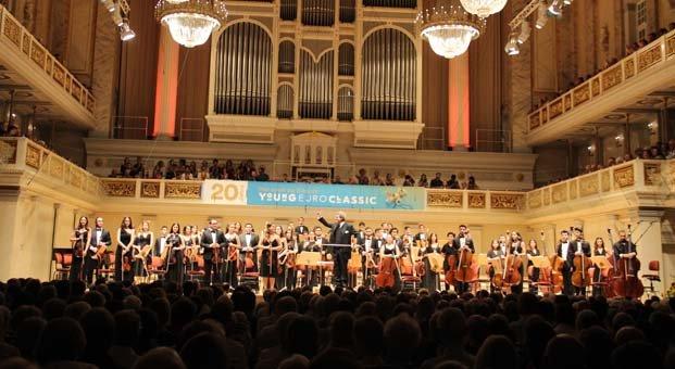 Genç müzisyenler konserleriyle Avrupa'yı fethetti