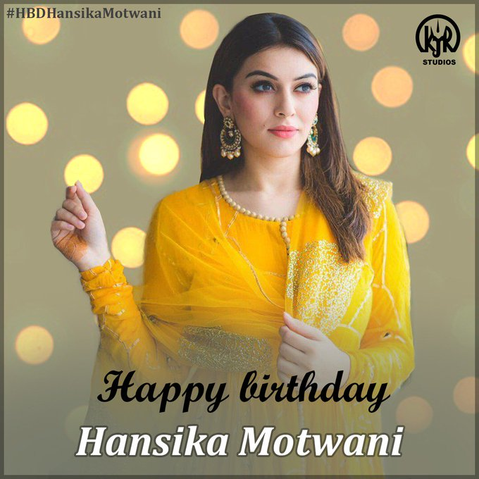 Happy birthday Maha Hansika Motwani