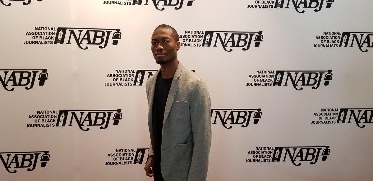 Might as well do the Ebony Magazine pose. #NABJ19